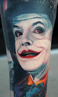 Jack Nicholson film version tattoo