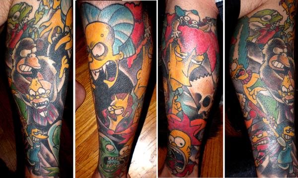 Simpsons Tattoos