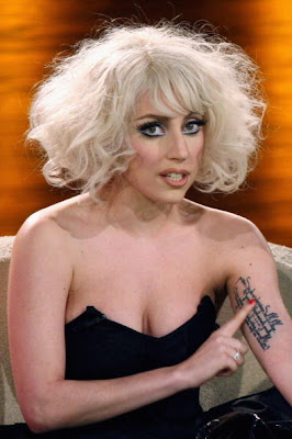 Lady Gaga Tattoos Girl