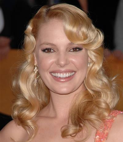 katherine heigl teeth before. Katherine Heigl Blonde Hair