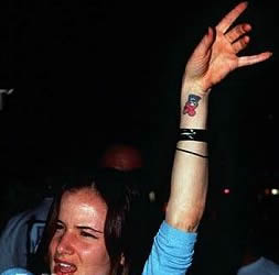 Juliette Lewis Tattoos
