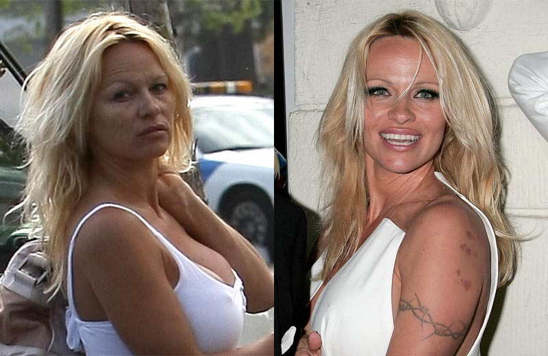 new celebrity buzz pamela anderson claims she is done with plastic