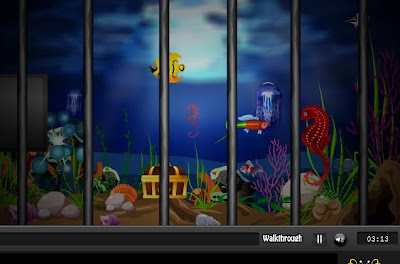 Deep Sea Cage Escape walkthrough