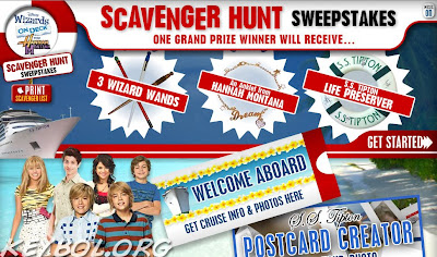 disneychannel.com/scavengersweepstakes | DisneyChannel.com Presents Scavenger Hunt Sweepstakes