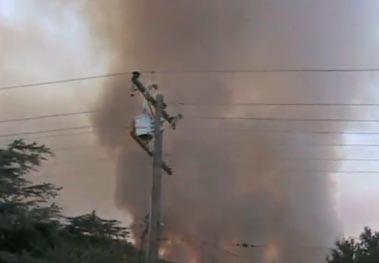 Rancho Palos Verdes fire