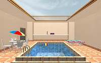 Swimming Pool Escape walkthrough