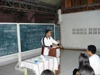 Mr. Ryan Mejillano lectures about Catholic Doctrine (CDS)
