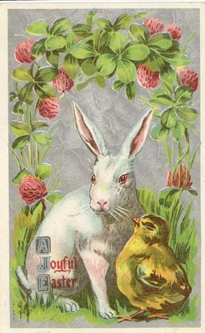 The Roving Medievalist Easter Postcards