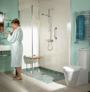 Snow and jones inc wet rooms too european for new england - Wet rooms in small spaces minimalist ...