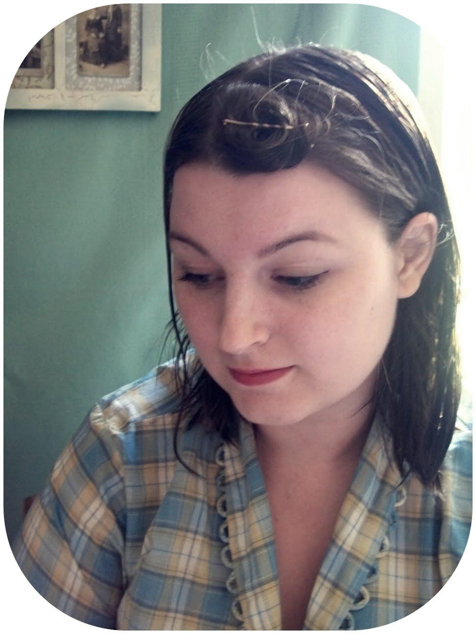 Tutorial basic pin curls va voom vintage with brittany tutorial basic pin curls urmus Images
