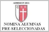Colegio Santa Rosa - Admisión 2011