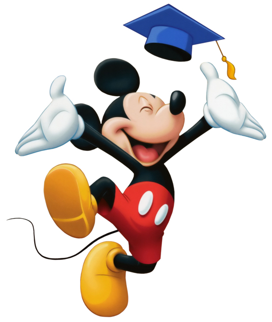 Mickey Mouse Congratulations Clipart