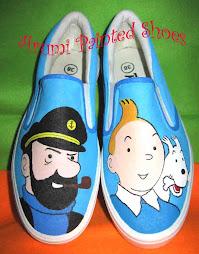 Tintin, Snowy & Kapten Haddock