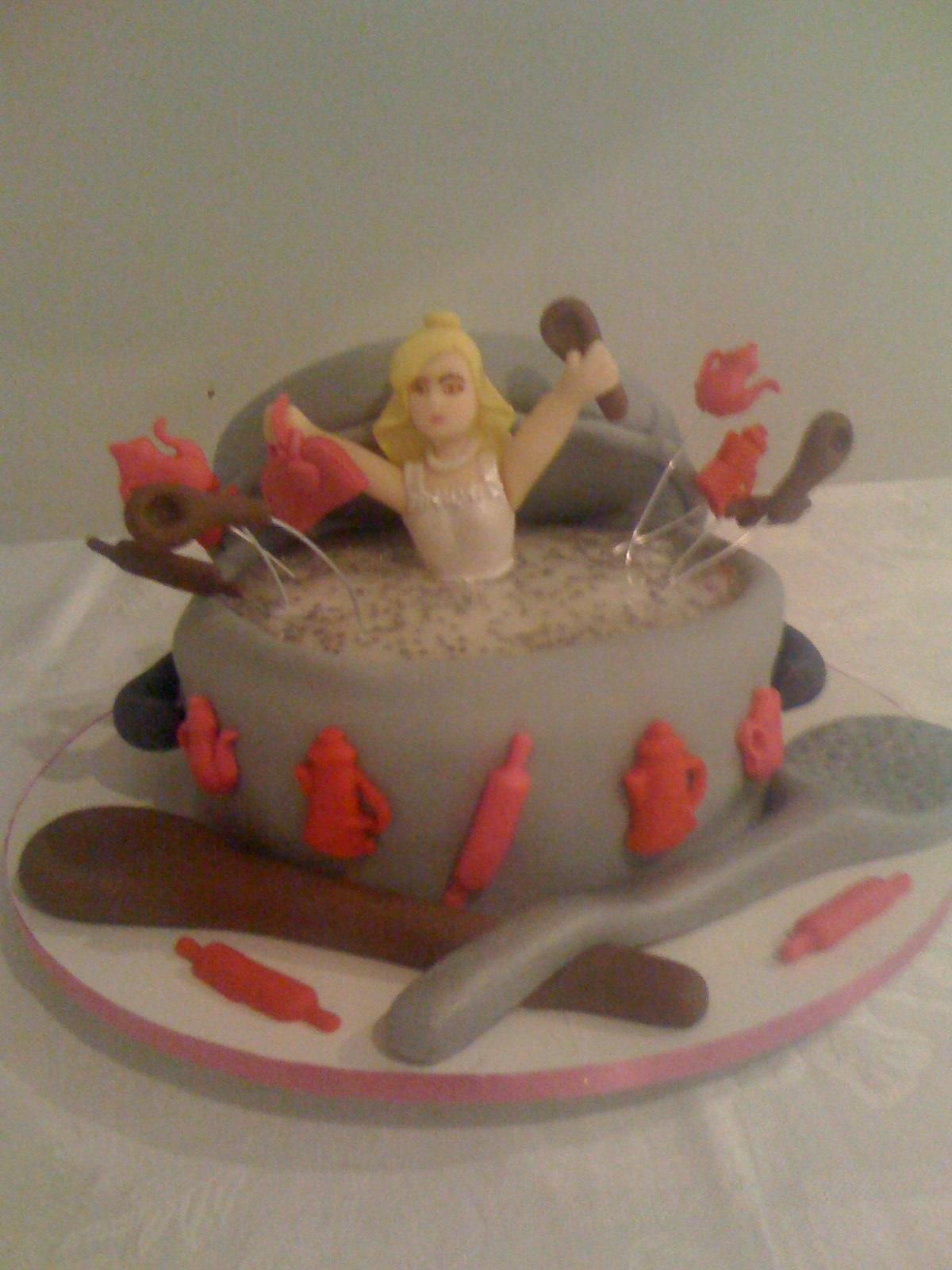 graziella cake designer  bolo para ch u00e1 de panela