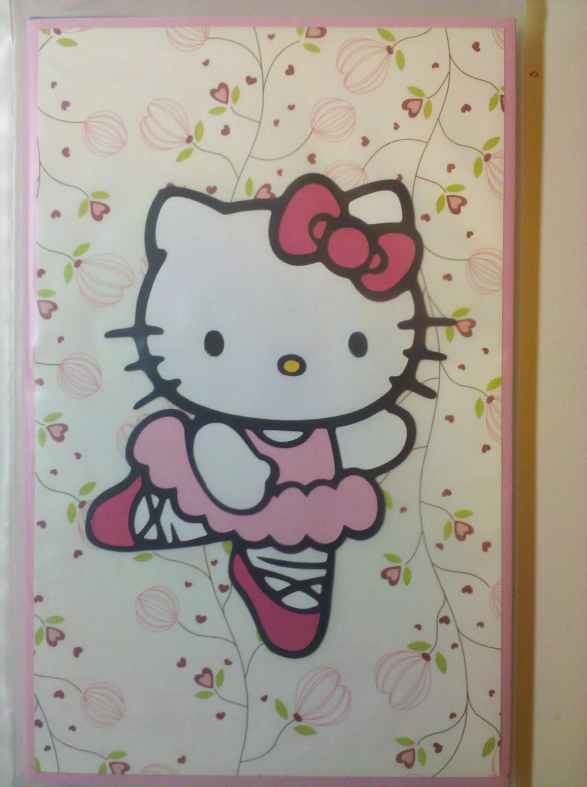 K kraft ballerina hello kitty notebook - Ballerine hello kitty ...