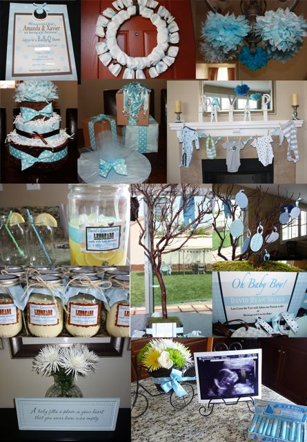 Tini posh baby q shower for Baby shower bbq decoration ideas