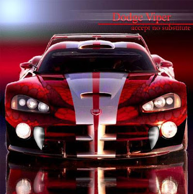 Dodge Viper. the iconic Dodge Viper