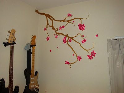 wall tattoos. Cherry Blossoms Wall Tattoos