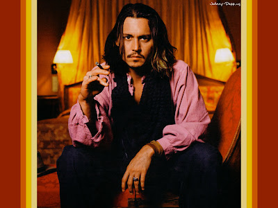 johnny depp short hair. Short Hair Johnny Depp.