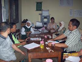 Rapat Pimpinan BKAD Kec. Malo
