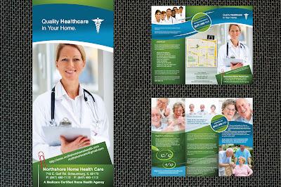 desain brosur klinik
