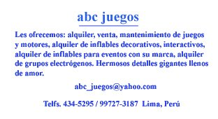 ABC Juegos