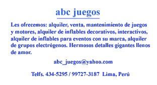 ABC Juegos