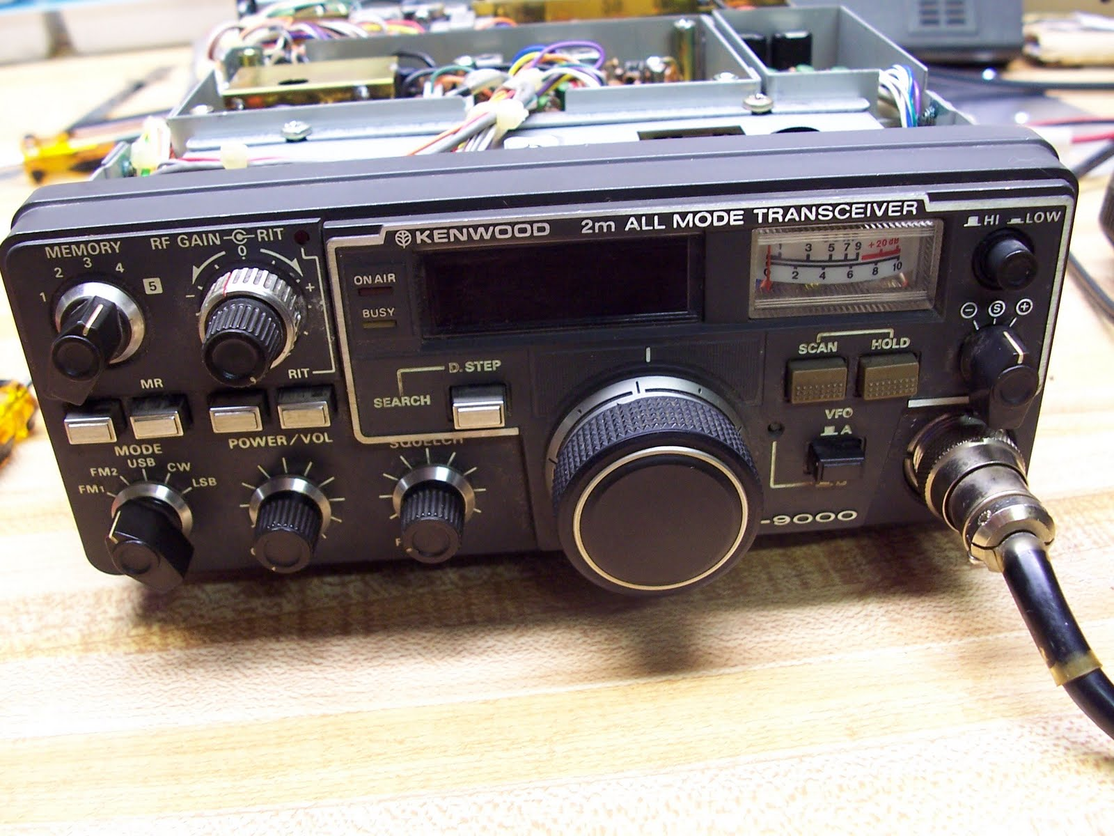 n9xlc kenwood tr 9000 problems rh n9xlc blogspot com Kenwood 2 Meter Radios Kenwood TM 201A
