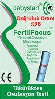 fertil focus ovelasyon testi