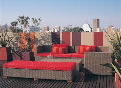 Grupo redecorate terrazas al aire libre for Muebles para terraza al aire libre
