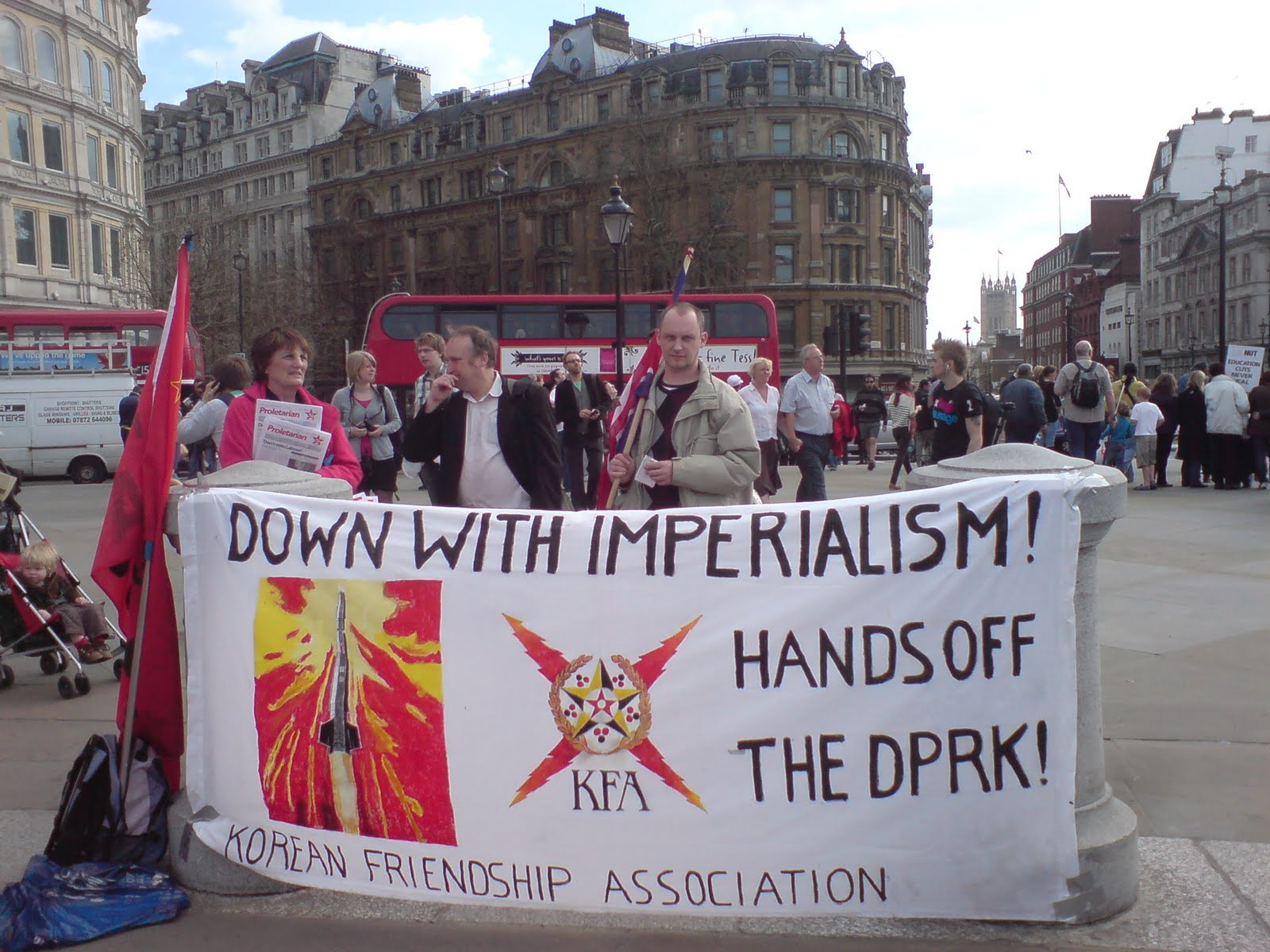 UK FOR BOLSHEVISM-AUCPB EVENTS: KFA and JISGE at TUC mass rally on ...