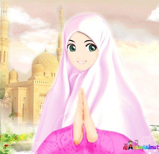 wallpaper kartun islami. wallpaper kartun islam
