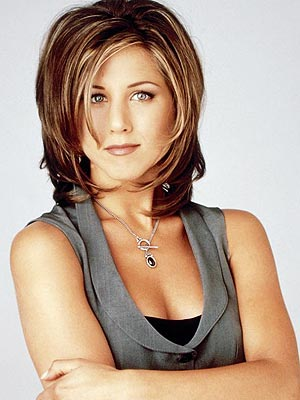 shag layered hairstyles. Long Curly Hairstyles Tips Jennifer Aniston is
