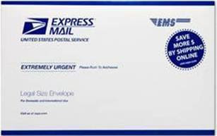 USPS Now Offers Legal Sized Envelopes For Express Mail And Priority