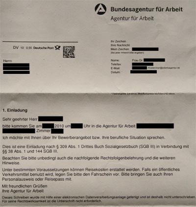 Referendariat - Und Dann?: Arbeitsamt - Die Zweite!