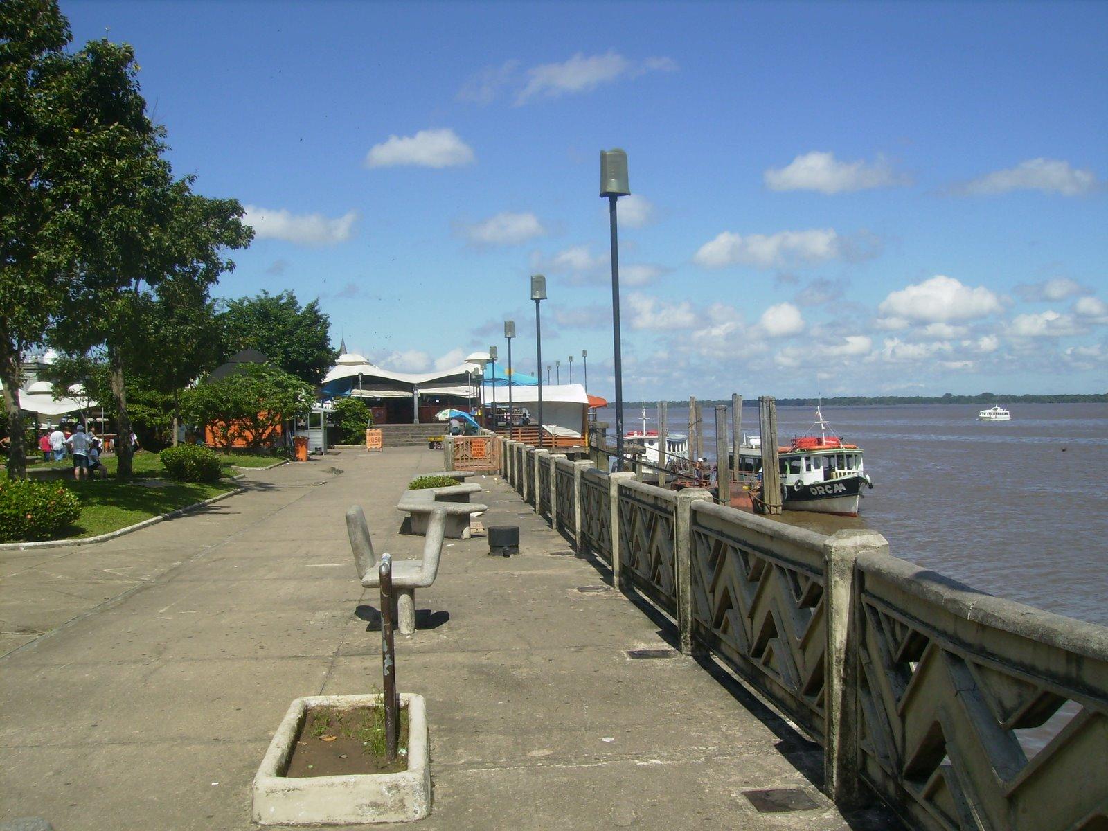 Orla fluvial, feira do Ver-o-Peso, Belém