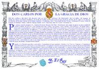 Patente de Corso de las Letras