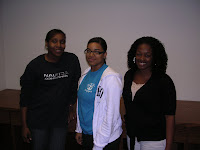 Daqueshea McCarty, Tawonna Keeton and Shayla Taylor