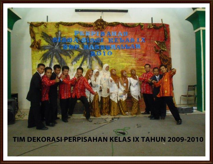 Selamat Berpisah SMP Hasbunallah (Album Kenangan)