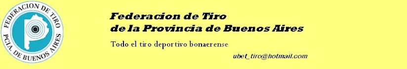 Federacion de Tiro de la Provincia de Buenos Aires