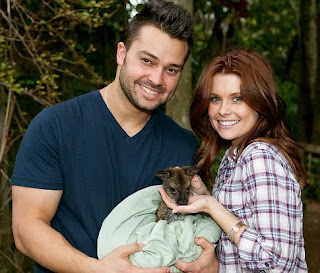 JoAnna Garcia with husband, Nick Swisher