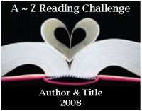 A~Z Reading Challenge