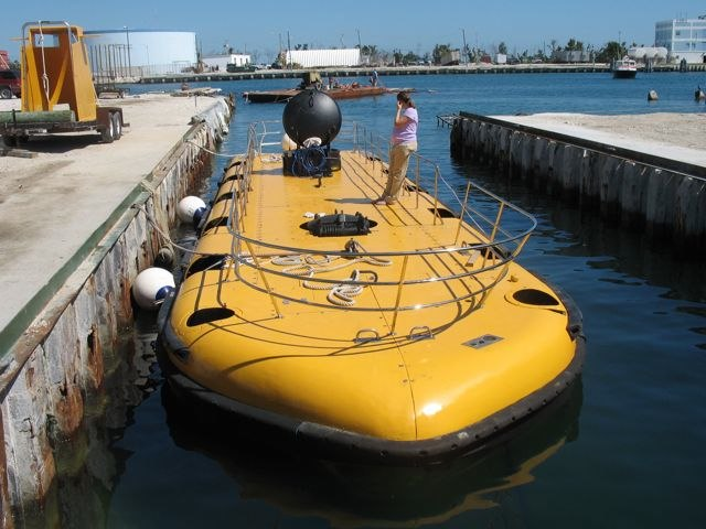 Submarine for sale. Now how cool is that? around $695000