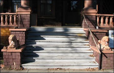 The Front Porch Certainly Had Seen Happier Days By The Time We Moved Into  Comstock House. Part Of The Floor Was Rotted And Needed Urgent Replacement,  ...
