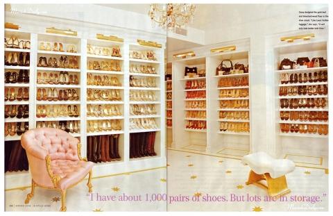 Quarto de Sophia Potter Mariah-carey-closet