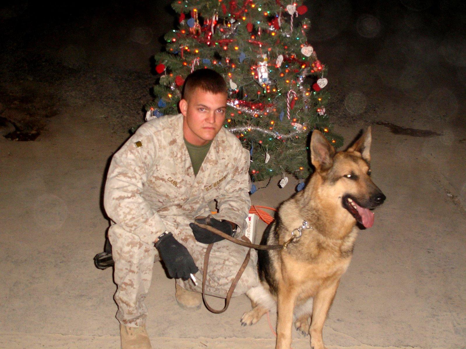 Sgt. Adam Cann & MWD Bruno
