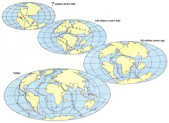 Eras Geologicas Pangea Eras Geol Gicas y Formaci n de