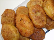Jackfruit potato cake