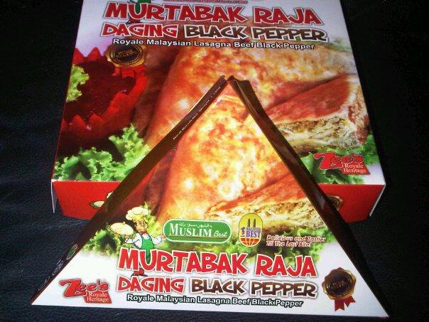 Murtabak Raja &  Karipap *  Black Pepper  *