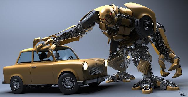 3D Robot Model Designs
